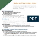 information  media tech skills
