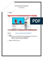 curriculum archive activity 1 and 2