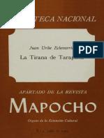 La Tirana Mapoccho Uribe Echeverria