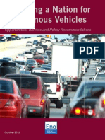 Eno report on self-driving cars
