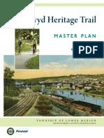 Cynwyd Heritage Trail Masterplan