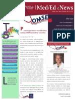 UA OMSE Med/Ed eNews v2 No. 03 (OCT 2013)