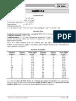 ITA Química 2005