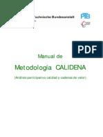 Manual Calidena