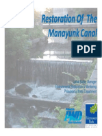 Restoration of the Manayunk Canal - PWD Presentation