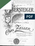 [Score] [Operette] Zeller - Der Obersteiger