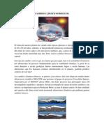 CAMBIOS CLIMÁTICOS BRUSCOS