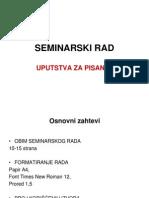 Seminarski rad, uputstva za pisanje.ppt