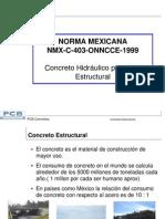 09 NMX C 403 (Norma Del Concreto Hco Estructural)