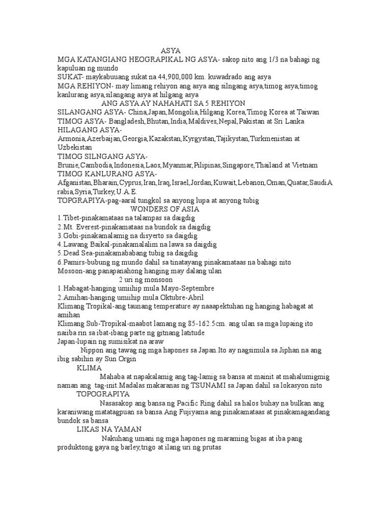 impormasyon tungkol sa silangang asia Ang proyektong ito ay ginawa upang magbalik tanaw sa mga pamana ng sinaunang asyano sa daigdig mula sa kanluran, timog at silangang bahagi ng asya.