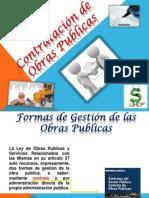 Exposicion Contratos de Obras Publicas