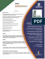 Pensum Licenciatura Biología U distrital