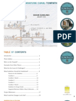 Plan for Canalside Facades