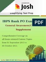 IBPS BANK PO EXAM 2013_GA_Supplement.pdf