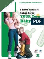 Babysitting Student Guide