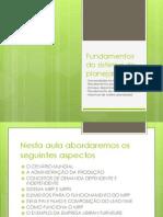 Fundamento Dos Sistemas de Planejamento
