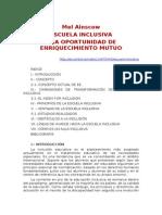 Ainscow.Escuela inclusiva.Enriquecimiento mutuo.doc