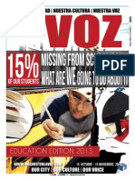 La Voz Education Edition October 15 - November 15 2013