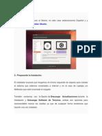 instalación linux