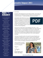 Mass Alliance Impact Report 2013