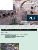 Morteros y Aparejos Roma