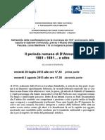 Iniziative su 150° di Gabriele D'Annunzio - Pescara - Estate 2013.pdf