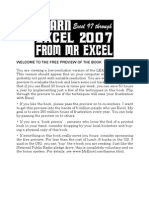 Learn Excel 2007 From Mr.excel - Bill Jelen