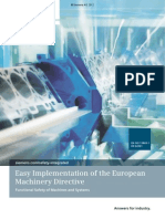 Easy Implementation of European Machine Directive