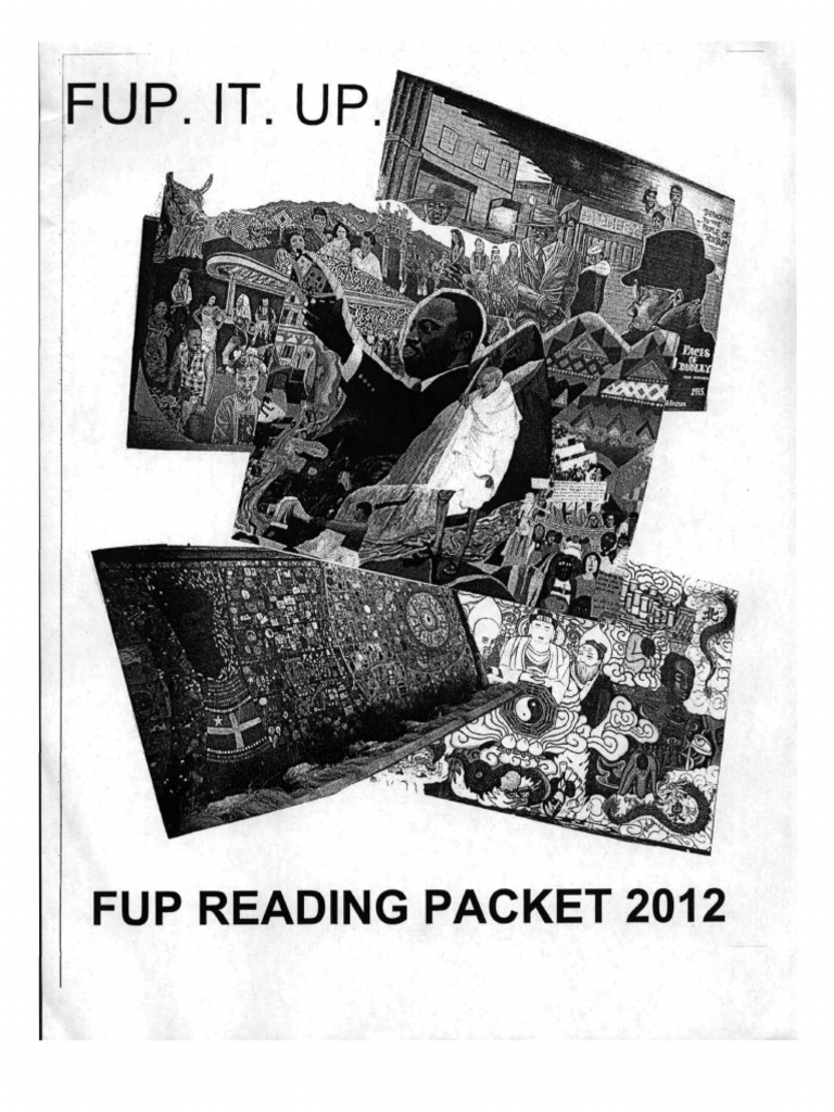 FUP Reading Packet 2012 | Same Sex Marriage | Queer