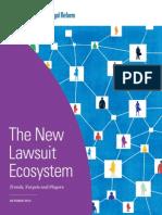 The New Lawsuit Ecosystem