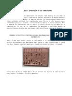 HISTORIA Y EVOLUCIÒN DE LA COMPUTADORA