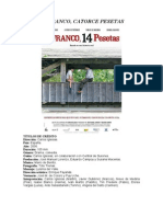 Ficha didáctica - Un franco, catorce pesetas