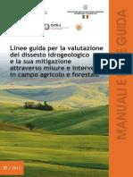 linee guida per la valutazione del dissesto idrogeologico