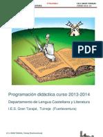 Programación LCL 2013-14- 2º Bachiller