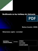 Resiliencia en Victimas de Violencia