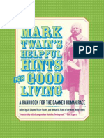 Mark Twain's Helpful Hints for Good Living:A Handbook for the Damned Human Race by Mark Twain