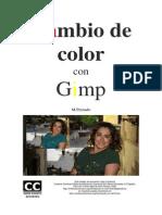 Cambio de Color Con Gimp