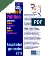 Informe Estudio Drogas y Opinion 2012 ADS