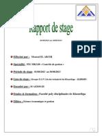 Rapport de Stage OCP .Service Controle de Gestion