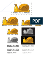 Different Scales of Snail Logos