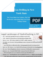 Fracking Law for New York Municipalities