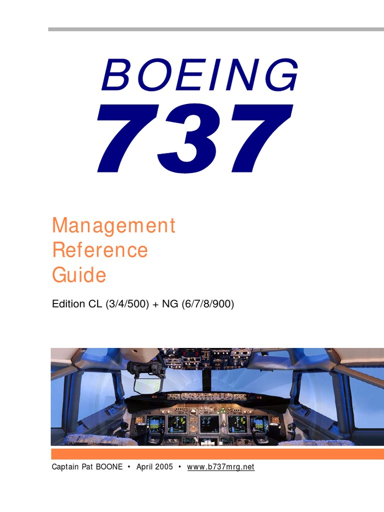boeing 737 management reference guide pdf today manual guide rh brookejasmine co Boeing Management Style Boeing Management Style
