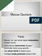 Metode Geolistrik