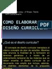 17936583 Como Elaborar El Diseno Curricular