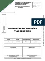 POG.MEC.001 Procedimiento de Soldadura de Tuberías y Accesorios