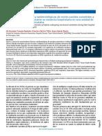 Características clínicas y epidemiológicas de RN sometidos a VM durante su estancia hospitalaria en una UCIN