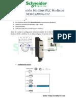 Comunicación Modbus M340 ATV32