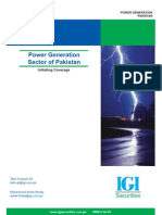 Pakistan Power Generation Sector