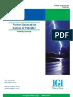 Pakistan Power Generation Sector