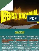 Defensa Nacional Derecho